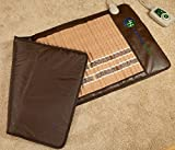 HealthyLine Infrared Heating Mat (Soft & Flexible)|TAJ, Natural Amethyst, Jade & Tourmaline Ceramic, (Full-Body) 72″ x 24″ |Relieve Pain, Sore Muscles, Arthritis and Injury Recovery |US FDA
