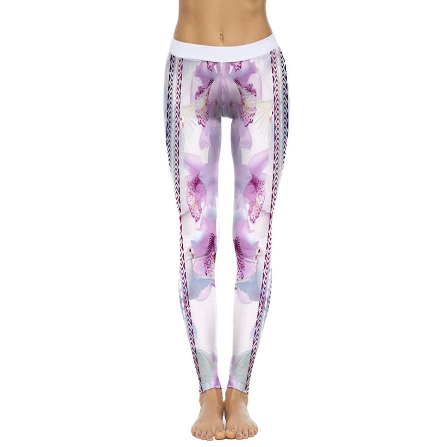 145a1833262937 Amazon.com: Memela Yoga pants Women Print Sports Gym Yoga Running Fitness  Leggings Pants Athletic Trouser: Clothing
