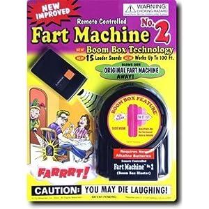 Remote Control Fart Machine