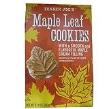 2 Pack Trader Joe's Maple Leaf Cookies by Trader Joe's