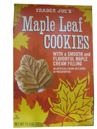 Pack Trader Joes Maple Cookies