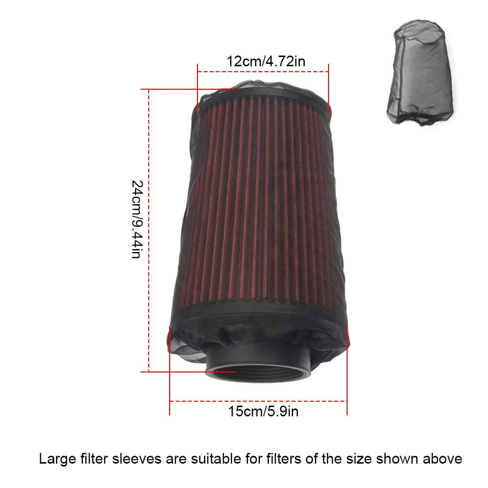 Lucky-all star Car Air Filter Dust Cover with Dustproof Waterproof Oil-Proof Outwear
