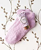 boxed French Lavender Cozy Sock and Lotion Gift-Boxed Set