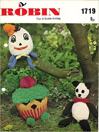 Toys In Double Knitting Humpty Dumpty Panda And Hunky Dunky