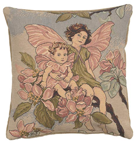 Cicely Mary Barker Apple Blossom Fairy European Decorative Cushion Cover