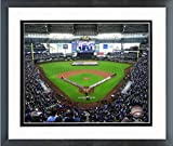 Milwaukee Brewers Miller Park 2019 MLB Stadium Photo (Size: 12.5' x 15.5') Framed