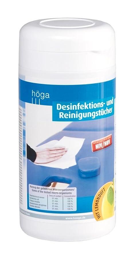 Toallitas Desinfectantes/paños de limpieza 100 unidades húmedas Desin fekiton paños en el dispensador,