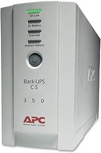 APC BK350 350VA UPS System,White