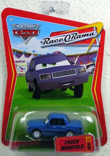 (Disney / Pixar CARS Movie 1:55 Die Cast Car Series 4 Race-O-Rama Chuck Manifold)