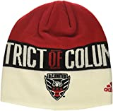 united 1st - adidas MLS D.C. United 1st Kick Jersey Hook Beanie, One Size, Red