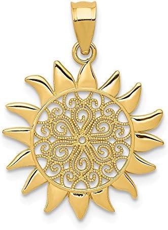 Filigree Pendant Necklace Celestial Jewelry product image