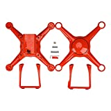 Autel Robotics Shells & Landing Gear for use with X-Star Premium and X-Star Drones, Orange