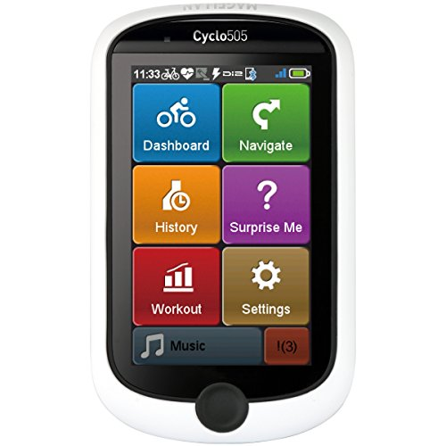 Magellan 505 GPS Cyclo Computer (Certified Refurbished) by Magellan