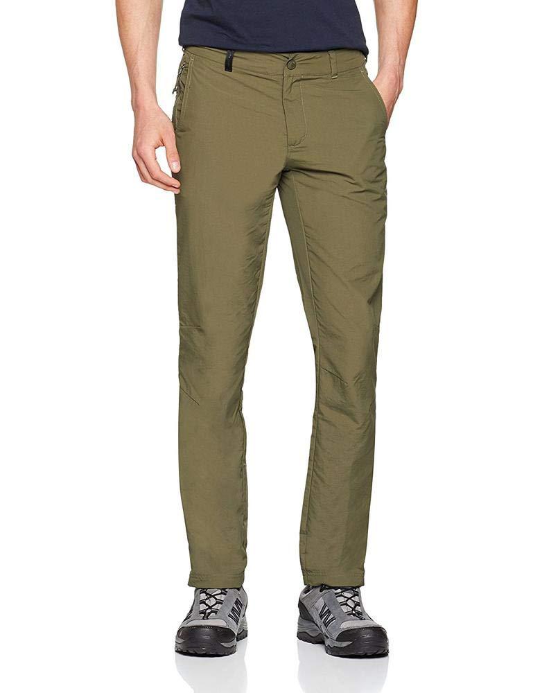 The North Face 2s84 Pantaloni Lunghi, Uomo, Uomo, 2S84, verde (Foglia dell'uva), XS 36 R