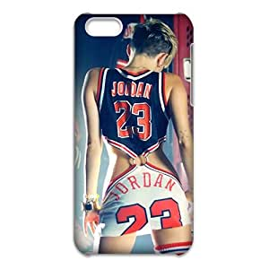 3D iPhone 5C Case,Nupro Lightweight Absorbing and Scratch Resistant Cover Jordan 23 CoverBumper Case