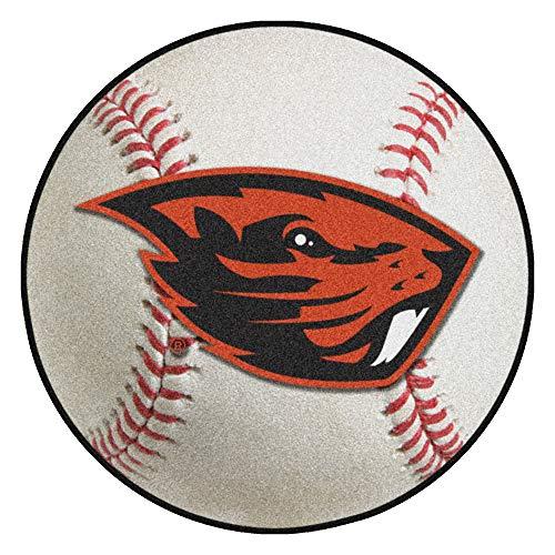 - FANMATS NCAA Oregon State University Beavers Nylon Face Baseball Rug