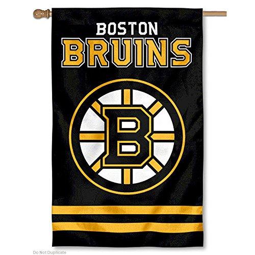 [Party Animal AFBRU Bruins Applique Banner Flag] (Applique College Flag Banner)
