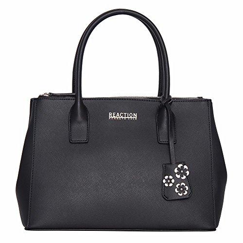 kenneth-cole-reaction-kn1933-dowling-womens-triple-entry-top-handle-satchel-handbag-black