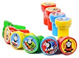 Thomas the Tank Engine (Thomas & Friends) Self-Inking Stamps / Stampers Party Favors (10 Counts) by GoodyPlus