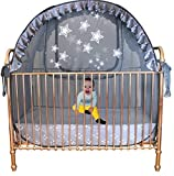 Baby Crib Tent - Keep Baby from Climbing Out of The Crib. Over 20 Years Expertise in Design, Safety and Manufacturing Popup Crib Tents