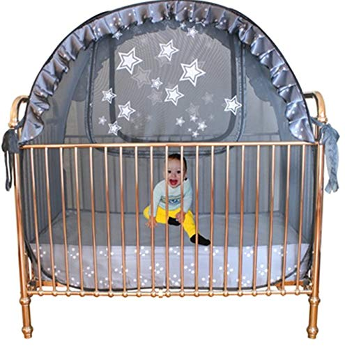 Best Baby Crib Tent - Trusted for 20+ Years - Proven to Keep Your Baby from Climbing Out of The Crib. Original Australian Design Premium Pop Up Crib Canopy