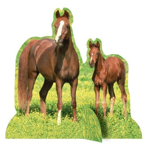 Horses Centerpieces-4 Pack (Horse Centerpiece)
