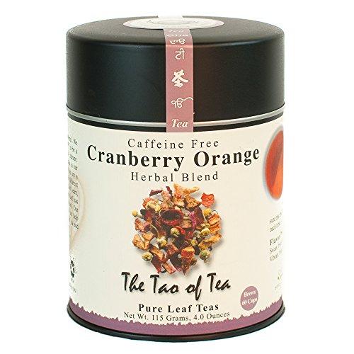 The Tao of Tea, Cranberry Orange Herbal Tea, 4 Ounce Tin