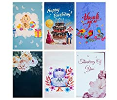 Are you tired of boring and lame greeting cards? This assorted pack of 48 Artistic Erat Bon Greeting Cards will prepare you for all your card-sending needs for various occasions! ***Say goodbye to rushing to the store to buy a set of over...