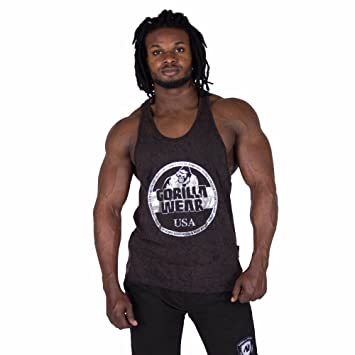 Gorilla Wear Mill Valley Tank Top - Black, XXXL