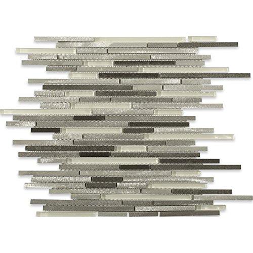 Aluminum Stiletto Ice Nero (Sold by:SHEET) ALUSTILNERO