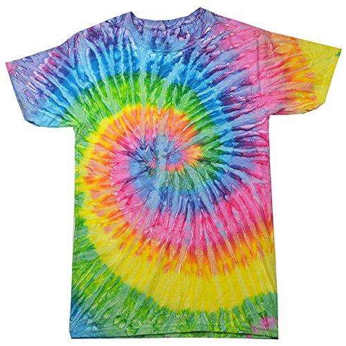 Krazy Tees Tie Dye T-Shirt, Saturn, Youth S ()