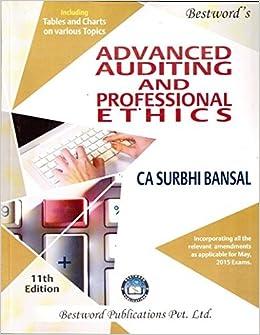 Ca Final Audit Book By Surbhi Bansal