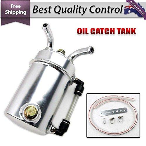 Car Racing Engine Oil Catch Tank Can Reservoir Round +Hose AP1 AP2 DC2 DC5 EG EK by D&D (Drag & Drift) (Image #2)