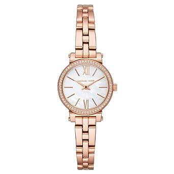 Michael Kors Reloj Analogico para Mujer de Cuarzo con Correa en Acero Inoxidable MK3834: Amazon.es: Relojes