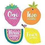 Little Tutti Frutti Monthly Stickers - Gender Neutral - Months 1-12
