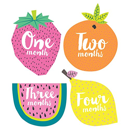 Lucy Darling Little Tutti Frutti Monthly Stickers ()