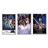 Star Wars Original Classics Movie 24x36 Poster Set Of 3 Art Prints