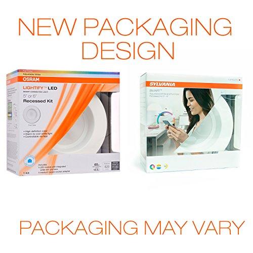 Sylvania Lightify 65W LED Smart Home Color/White Light Bulb (2 Pack) by Sylvania Smart Home (Image #5)