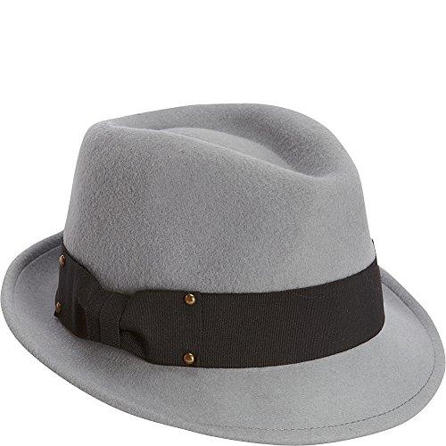 adora-womens-wool-felt-fedora-hat-with-studded-ribbon-trim-486-b-slate-blue