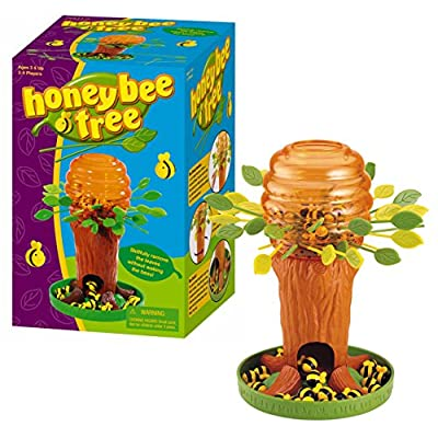 Game Zone Honey Bee Tree Game – Please Don't Wake the Bees – 2 to 4 Players, Ages 3 and Up: Toys & Games