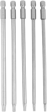 T25 1//4 pouces Shank 50 mm 2 pouces longueur S2 Magnétique Torx Tournevis Bits 10pcs
