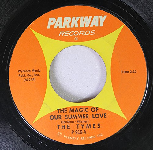 (The Tymes 45 RPM The Magic of Our Summer Love / With All My Heart)