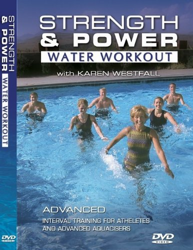 The Strength and Power Water Workout Water Aerobics DVD & CD with Karen Westfall