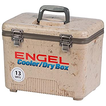 ENGEL COOLERS 13 QUART COOLER/DRY BOX GRASSLAND
