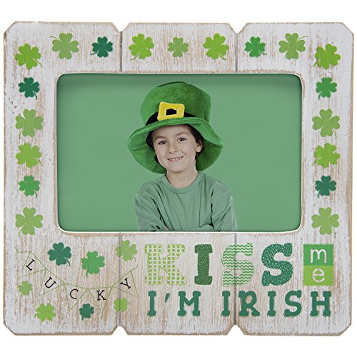 (Neil Enterprises, Inc Kiss me I'm Irish St. Patrick's Day Picture Frame)