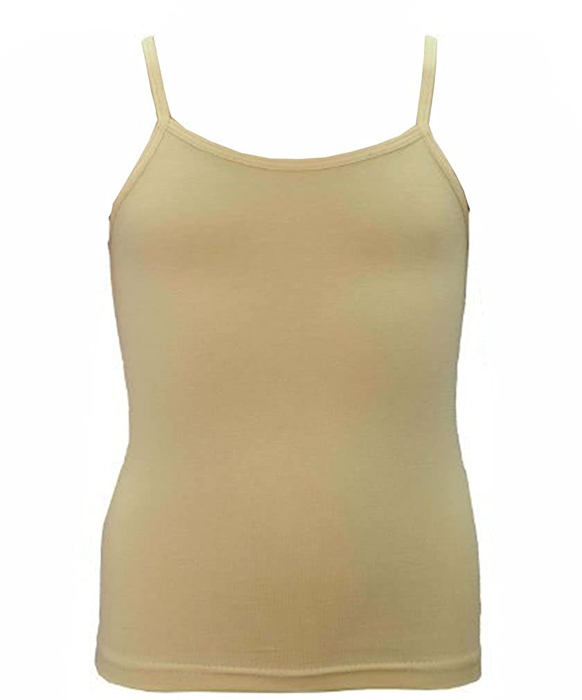 Elegance Girl`s and Ladies Cotton Lycra Spaghetti Strap Quality Camisole Vest Tops