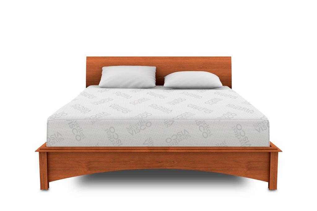 amazoncom silverrest sleep shop therapeutic 12inch memory foam mattress queen size kitchen u0026 dining