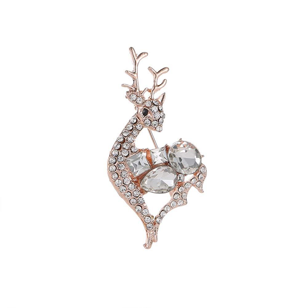 Yodio Metal Jewellery Fashion Cute Unisex Brooch For Women/Girls/Men
