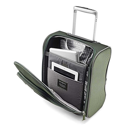 Samsonite Eco-Glide Wheeled Underseater, Cactus/Camo Green by Samsonite (Image #2)