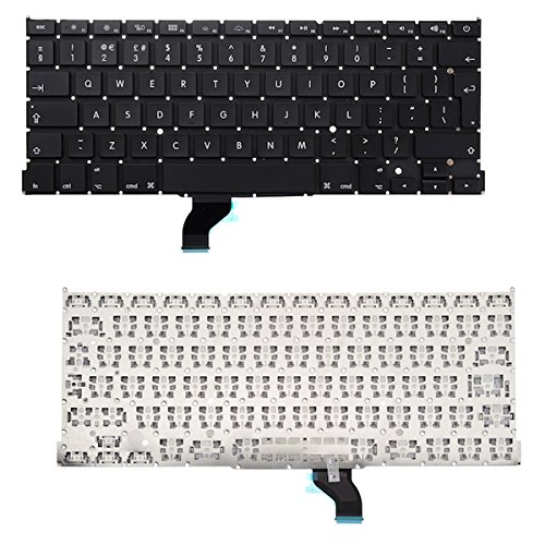 BisLinks UK Layout Keyboard Replacement for MacBook Pro 13